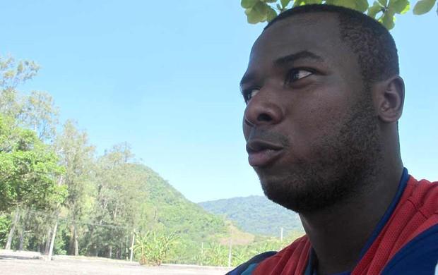 Fabiano Oliveira, atacante do Flamengo.  (Foto: janir Junior / globoesporte.com)