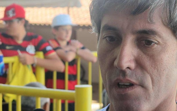 Paulo César Coutinho, vice de futebol (Foto: Richard Fausto de Souza / Globoesporte.com)