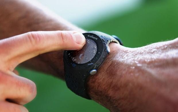 relógio Garmin Forerunner 610 corrida eu atleta (Foto: Divulgação)