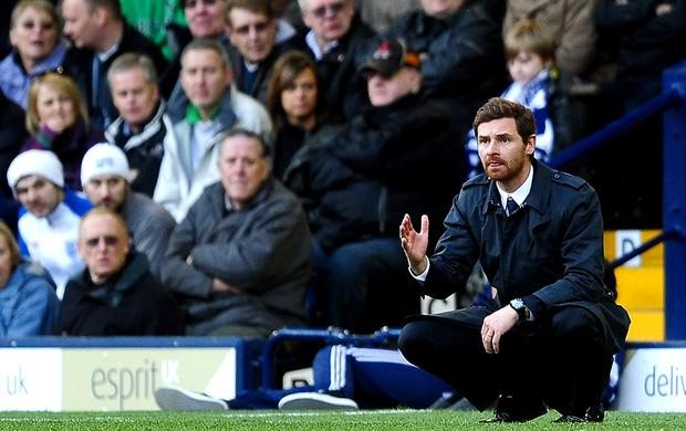 Andre Villas-Boas na partida do Chelsea  (Foto: Getty Images)