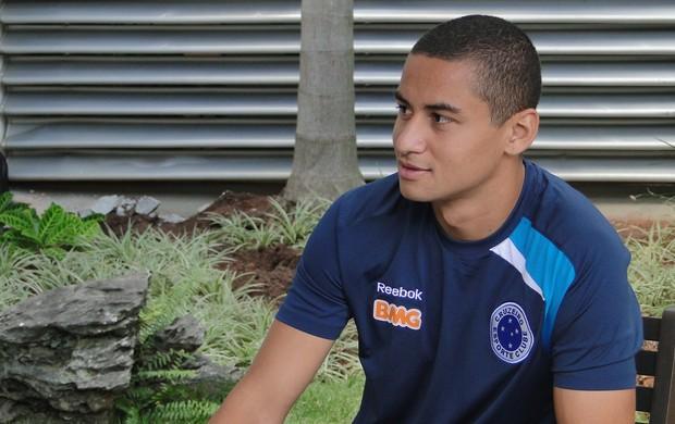 Wellington Paulista, atacante do Cruzeiro (Foto: Ana Paula Moreira / Globoesporte.com)