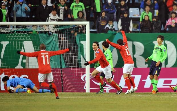 Jeonbuk FC x Guangzhou Evergrande (Foto: Agência AFP)