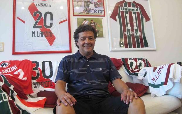hector lanzini pai fluminense (Foto: Edgard Maciel de Sá / Globoesporte.com)
