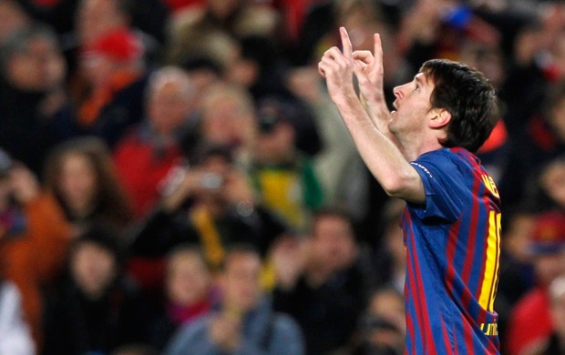 Messi gol Barcelona (Foto: Reuters)