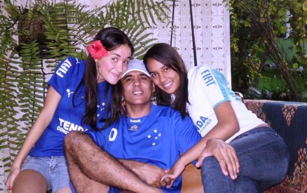 Maricio Sá e filhas eu atleta (Foto: Arquivo Pessoal)