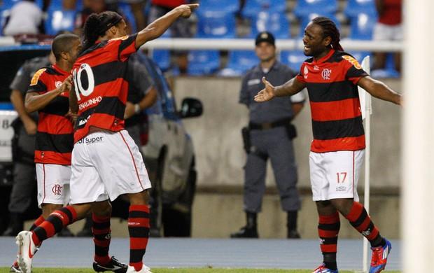 Vagner Love gol Flamengo (Foto: André Portugal / VIPCOMM)