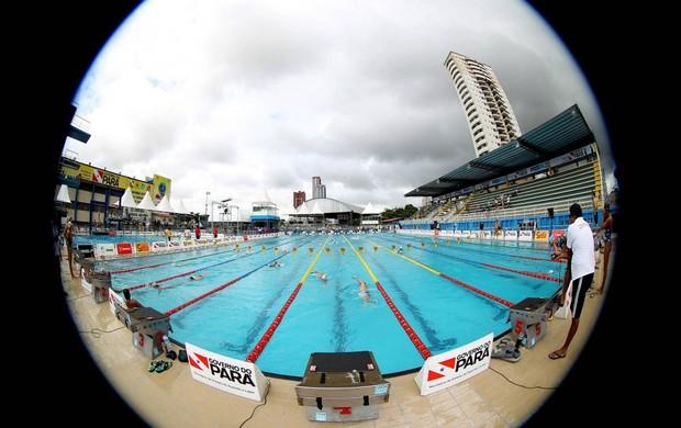 natação sul-americano de esportes aquáticos, em Belém (Foto: Satiro Sodré / CBDA)