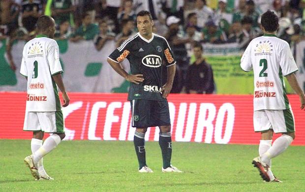 Daniel Carvalho na partida do Palmeiras contra o Coruripe (Foto: Ailton Cruz / VIPCOMM)