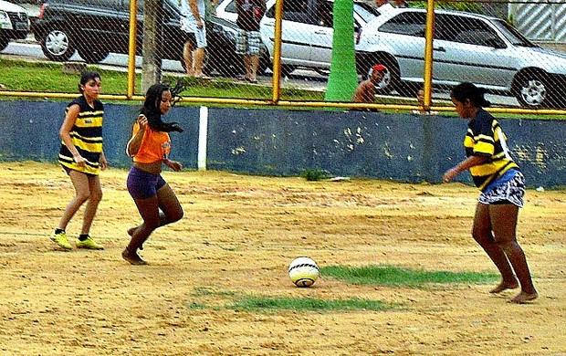 Rio Javari é uma das equipes feminino que participará do Campeonato da LMD do Aleixo=16-03-2012 (Foto: LMD do Aleixo/Divulgação)