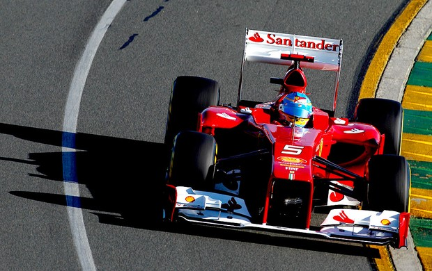 Alonso no treino do GP da Austr&#225;lia (Foto: Getty Images)