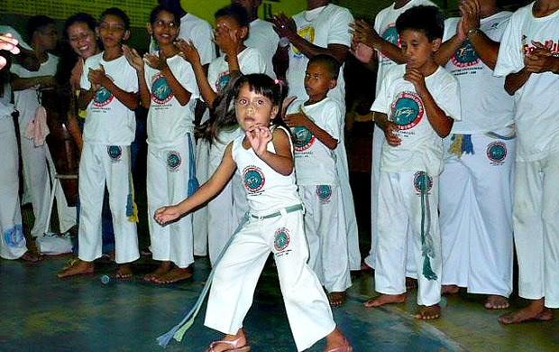 Encontro do Projeto Educando com Ginga 1==17-03-2012 (Foto: Projeto Educando com Ginga/Divulgação)