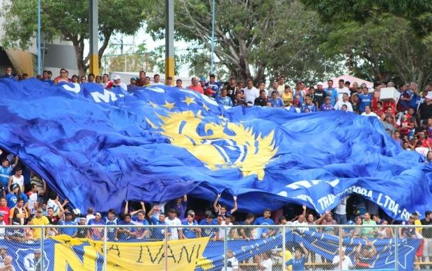Torcida Nacional-AM (Foto: Anderson Silva/Globoesporte.com)