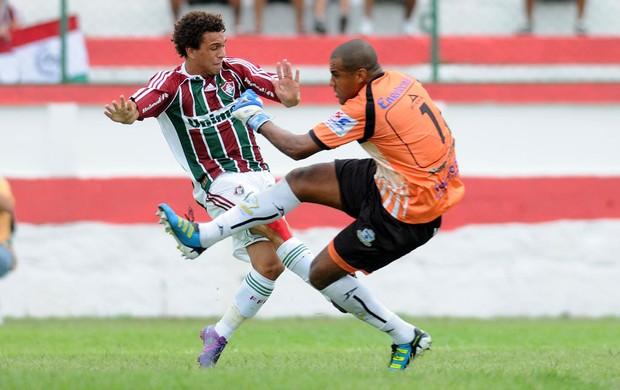 Wellington Nem Fluminense x macaé (Foto: Dhavid Normando/Photocamera)