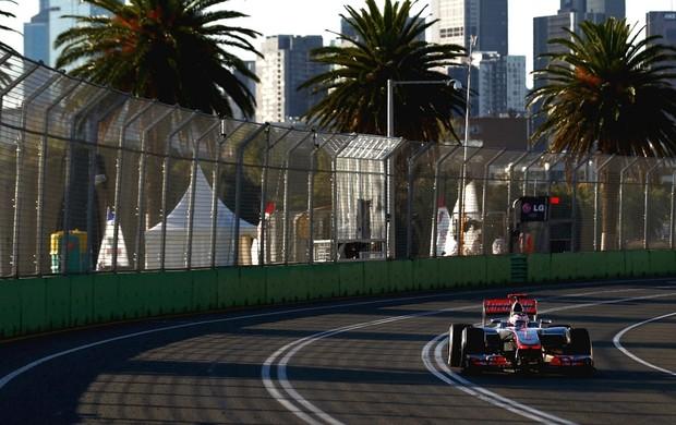 F1 GP da Austrália Jenson Button (Foto: Getty Images)