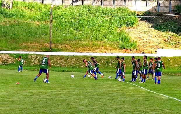 Treino do Naça no CT antes da partida contra o Coxa pela Copa do Brasil-20-03-2012 (Foto: Silvio LIma/GLOBOESPORTE.COM)