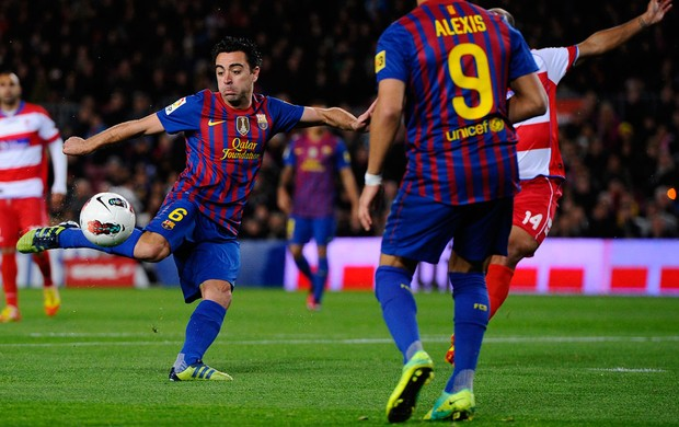 xavi barcelona x granada (Foto: Getty Images)