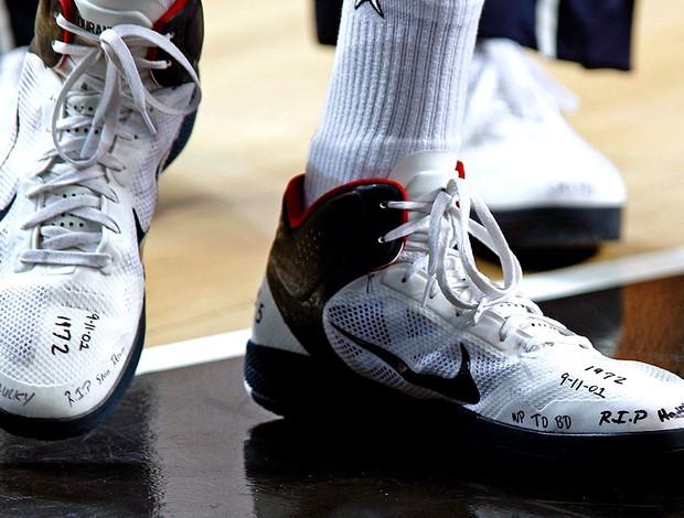 Kevin Durant tênis EUA no Mundial de basquete