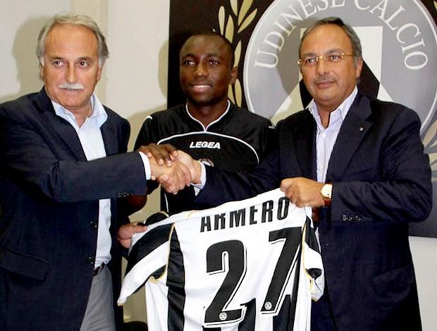 Armero, apresentação na Udinese