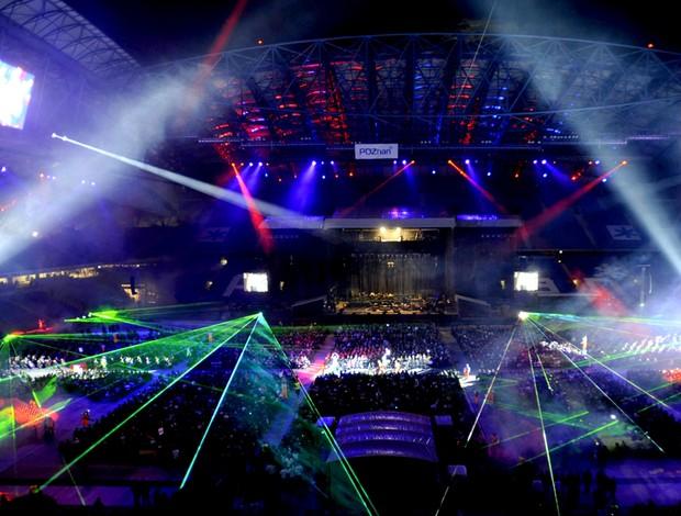 inauguração novo estádio municipal em Poznan, polônia euro 2012