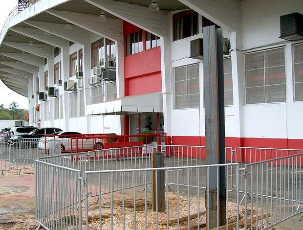 obras no estádio Beira Rio do Internacional