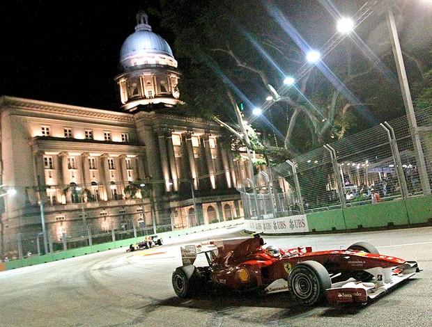 Alonso no GP de Cingapura