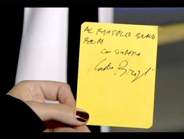 Cartão amarelo Felipe Melo