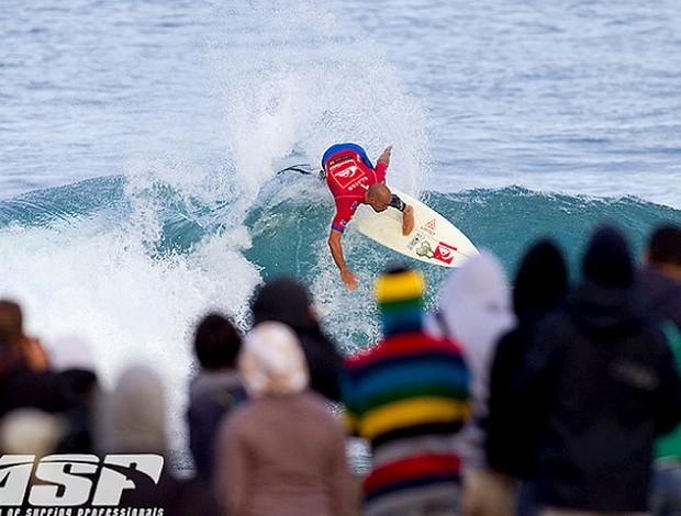 Kelly Slater surfe França