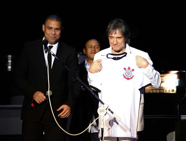 Ronaldo e Roberto Carlos show centenário Corinthians