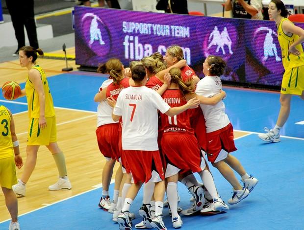 basquete República Tcheca x Austrália