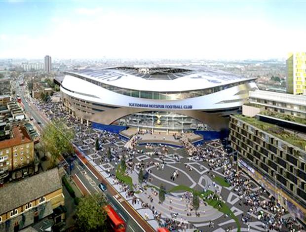 novo estádio tottenham