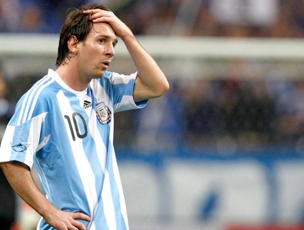 Messi lamenta derrota da Argentina para o Japão