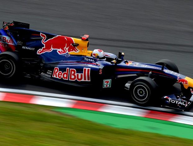 Sebastian Vettel RBR treino livre GP do Japão Suzuka