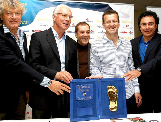 Dunga, Giancarlo Antognoni, beckenbauer Hugo Sanchez Antonio Caliendo golden foot