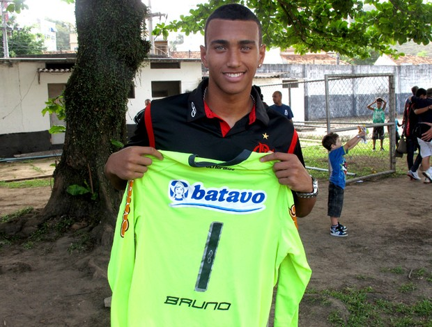 Caio, goleiro do juvenil do Flamengo