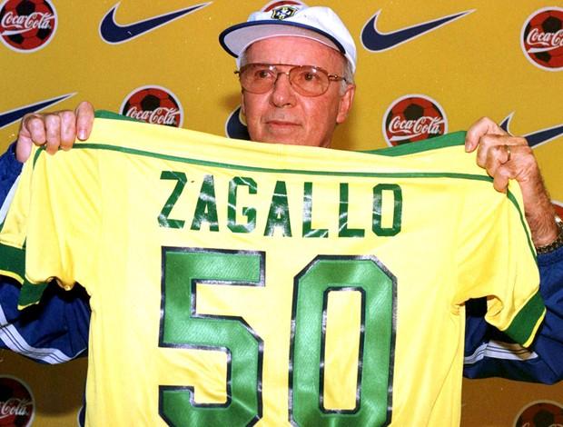 zagallo camisa brasil 50