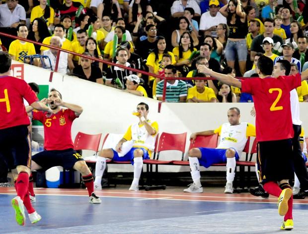 Futsal - Brasil perde pra Espanha