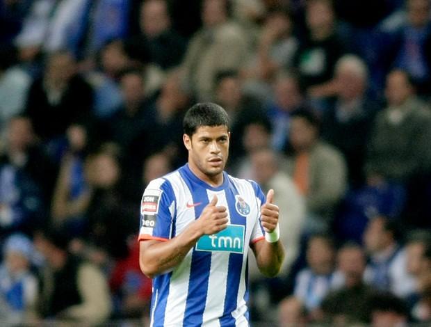 hulk comemora gol do Porto contra o Uniao Leiria