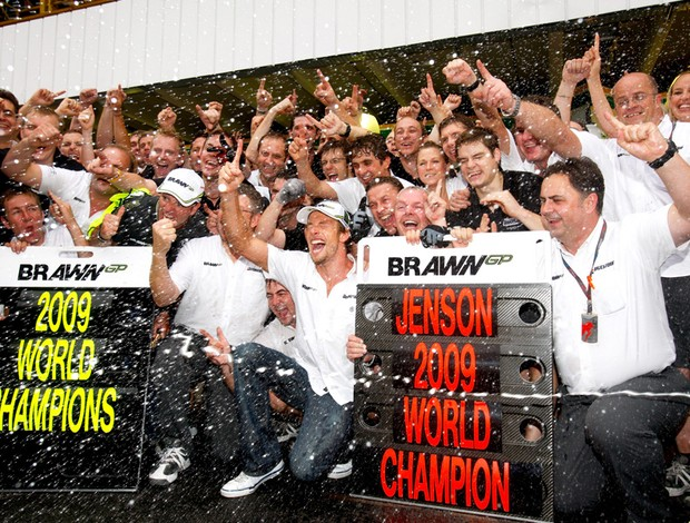 Jenson Button Brawn Formula 1 f-1 Brasil 2009 (Foto: Getty Images)