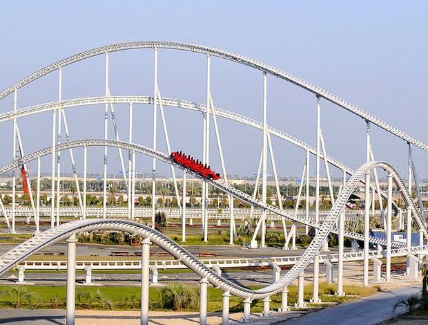 parque da Ferrari em Abu Dhabi