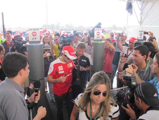 Massa chega Interlagos