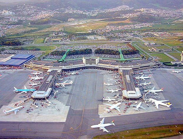Aeroporto de Guarulhos (Foto: Reprodução)