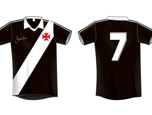 Vasco lançará camisa retrô de Sorato aa9556b48b47f