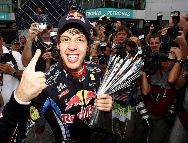 Vettel GP Malasia (Foto: Getty Images)