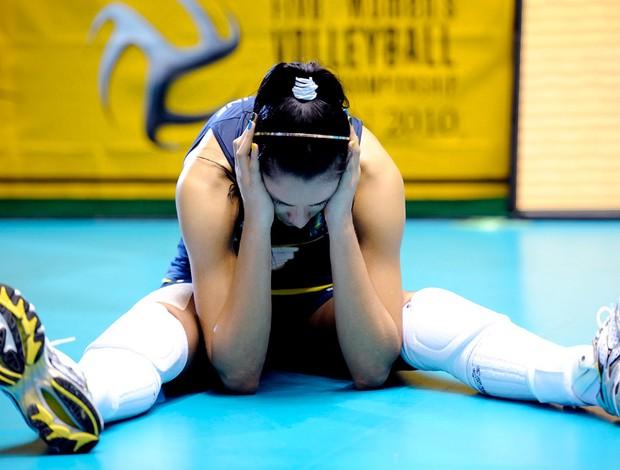 vôlei jaqueline chora perda do título mundial