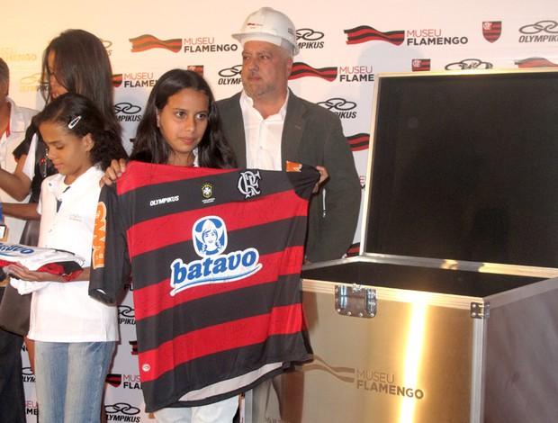 Uniforme atual foi depositado na cápsula do Museu Flamengo