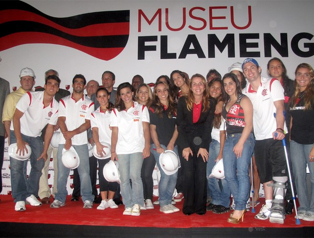 lançamento do museu do Flamengo