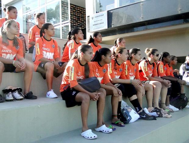 Time feminino do Atlético-MG, tricampeão mineiro