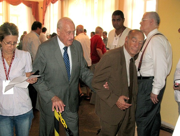 João Havelange vota no Fluminense