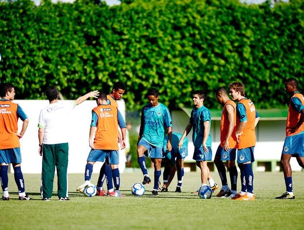 treino Goiás no CT Parque Anhanguera