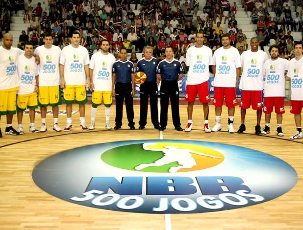 basquete nbb 500 jogos joinville pinheiros